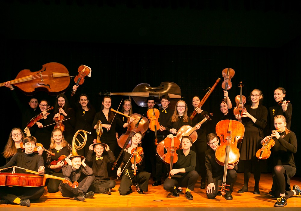 Landesjugendbarockorchester Baden-Württemberg am 19.9.21 im Dom
