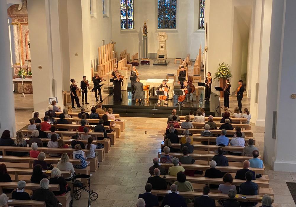 Landesjugendbarockorchester begeisterte im Dom